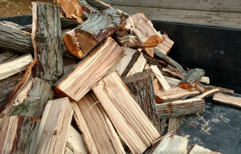 Hickory Firewood For Smoking Food (Green)